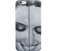 Diana Agron Diptych iPhone Case/Skin