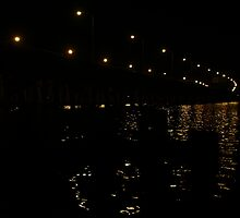 Highway Overpass over the Water by fototaker