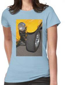 Yellow car Womens Fitted T-Shirt
