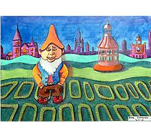 420 - LAND OF THE GNOMES - DAVE EDWARDS - COLOURED PENCILS - 2015 Photographic Print