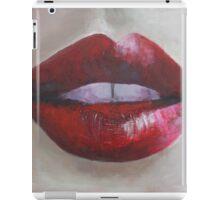 Lips  iPad Case/Skin