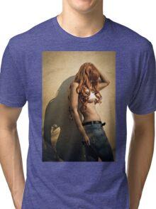 Go get 'em, tiger. 3 Tri-blend T-Shirt