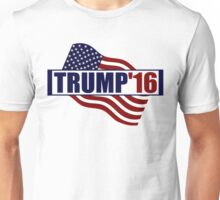 Donald Trump US Flag Unisex T-Shirt