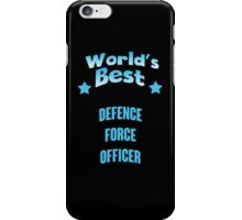 World's best Defence Force Officer! iPhone Case/Skin