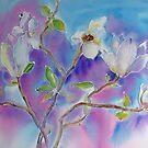 White Magnolia by bevmorgan