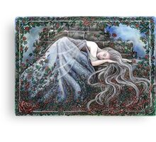 Sleeping Beauty Canvas Print