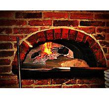 Wood-burning Oven Photographic Print