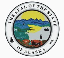 Alaska State Seal by GreatSeal