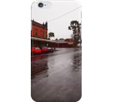 A wet day in Maldon VIC Australia iPhone Case/Skin