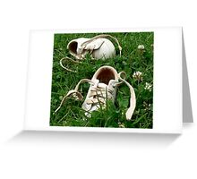 Barefoot in Clover Greeting Card