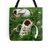 Barefoot in Clover Tote Bag