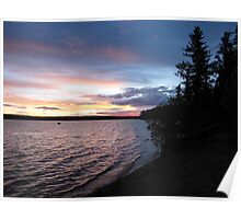 One Island Lake Provinical Park Poster