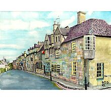 The Red Lion Chipping Camden Gloucestershire Photographic Print