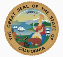 California State Seal by GreatSeal