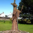 Saint Cuthbert of Lindisfarne by Jan Stead JEMproductions