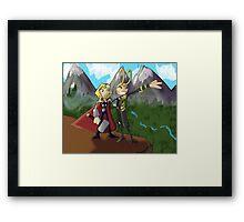 Asgardian Family Vacations Framed Print