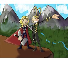 Asgardian Family Vacations Photographic Print