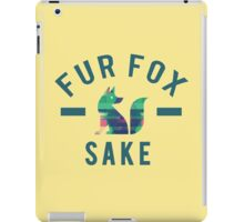 Fur Fox Sake iPad Case/Skin