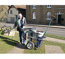 Wayne Hollis - Village Caretaker Photographic Print