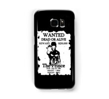Wanted Prince Devitt - Punisher  (Finn Balor) T - Shirt Samsung Galaxy Case/Skin