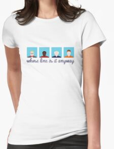 Whose Line is it Anyway? Womens Fitted T-Shirt