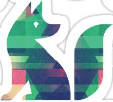 Fur Fox Sake Sticker
