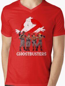 Ghostbusters Mens V-Neck T-Shirt