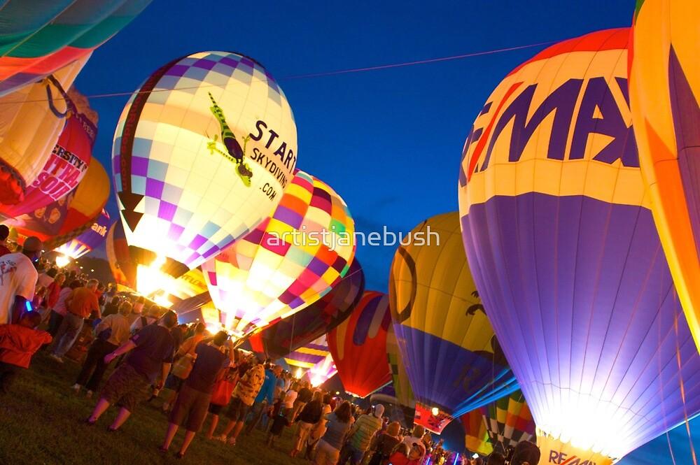 The Great Balloon Fair by artistjanebush
