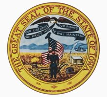 Iowa State Seal by GreatSeal