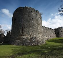 Old Inverlochy Castle. by John Cameron