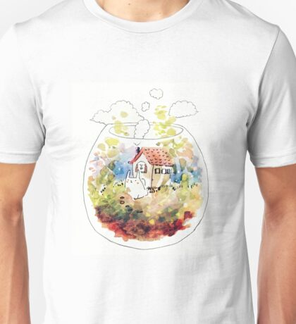 rabbit's terrarium home Unisex T-Shirt