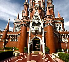 Castle, Taman Mini Indonesia Indah, Jakarta, Indonesia by Charuhas  Images