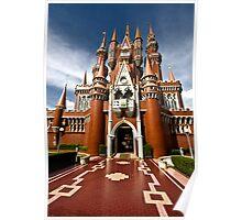 Castle, Taman Mini Indonesia Indah, Jakarta, Indonesia Poster
