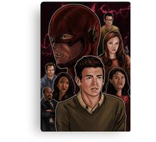 CW Flash Canvas Print