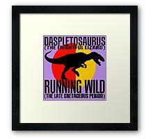Daspletosaurus Framed Print