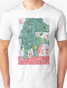 EXTINCT - LARGE FORMAT - VERTICAL T-Shirt