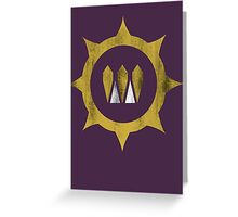 Destiny - Mark of the Queen Greeting Card