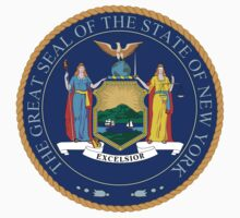 New York State Seal by GreatSeal