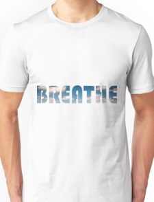 Breath Meditation, Zen & Relaxation Unisex T-Shirt