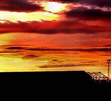 Building on sunset  by fhcphotos
