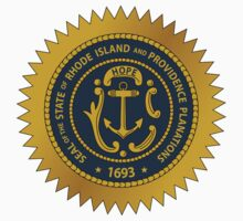 Rhode Island State Seal by GreatSeal