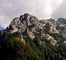 Mountain Hochkalter 02. Germany. by Daidalos