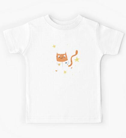Space Kitty - #4 Kids Tee