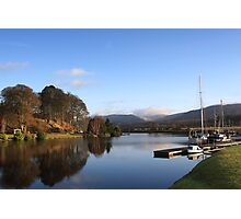 Gairlochy on the Caledonian Canal. Photographic Print