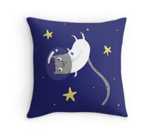 Space Kitty - #3 Throw Pillow