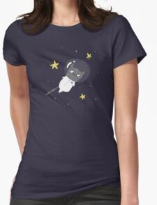 Space Kitty - #2 Womens Fitted T-Shirt