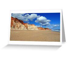 Praia da Falésia Beach - Portugal Greeting Card