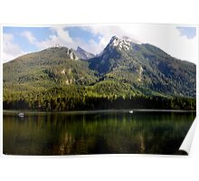 Hintersee and Hochkalter 02. Poster