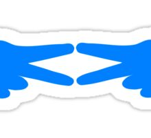 ADPI Diamond Hands Azure Sticker