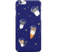 Space Cats - Pattern iPhone Case/Skin